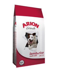 Arion friends lamb & rice 3 kg