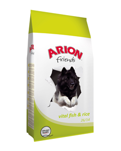 Arion fresh vital fish & rice 3 kg