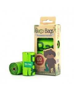 BecoBags 4 rollos x 15 bolsas (60 total)