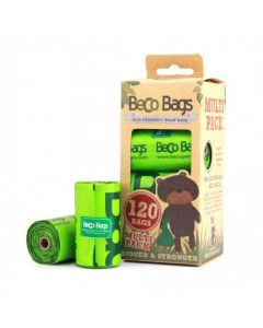 BecoBags 8 rollos x 15 bolsas (120 total)