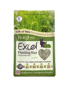 Burgess Excel feeding hay dried grass 1Kg