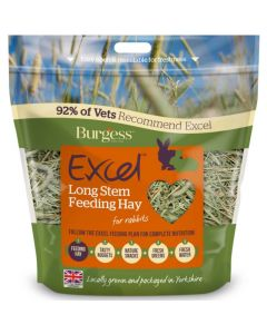 Burgess Excel Feeding Hay Long Stem 1Kg