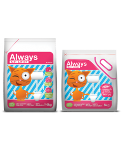 Cat Litter Always Arena Gatos 16 kg