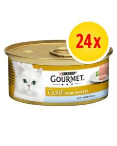 Gourmet Gold Mousse 24 x 85 g pollo