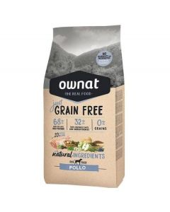 Ownat Just Grain Free Pollo 14 Kg