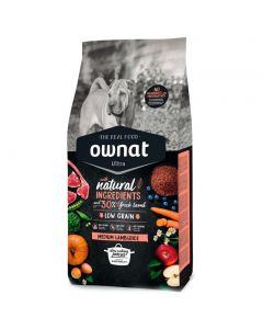 Ownat Ultra Medium Cordero y Arroz 14 Kg