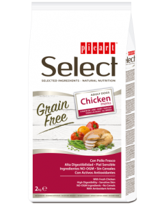 picart select dog grain free pollo 2kg